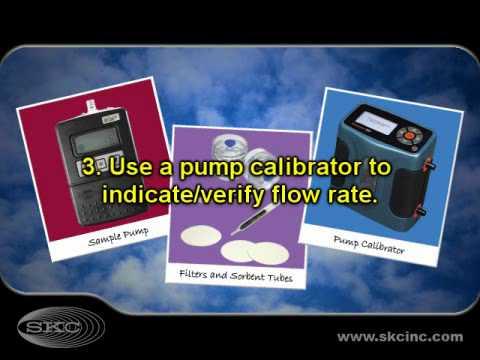 SKC Basic Air Sampling