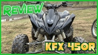 2. 2008 KFX 450r - Review