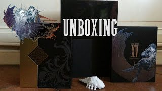 UNBOXING FINAL FANTASY XV Film Collections Box + OST Limited Edition + OST Volume 2