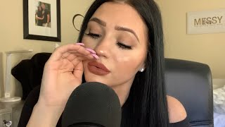ASMR  INAUDIBLE WHISPERING WITH HAND MOVEMENTS (VERY TINGLY)