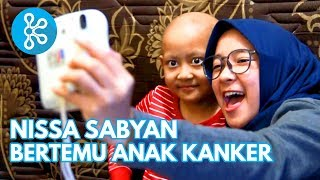 Video Reaksi Anak Kanker Ketemu Nissa Sabyan - CeritaKitaBisa X Yayasan Pita Kuning MP3, 3GP, MP4, WEBM, AVI, FLV April 2019