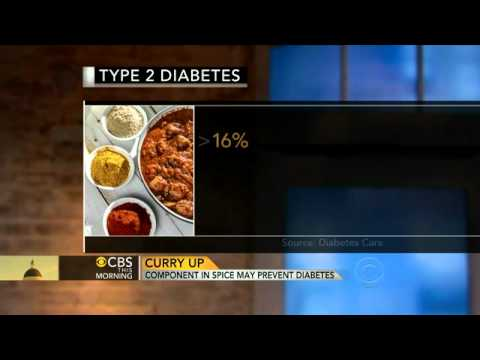 Curry Could Prevent Diabetes