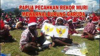 Video Papua pecahkan rekor muri mewarnai Burung Garuda MP3, 3GP, MP4, WEBM, AVI, FLV Desember 2017