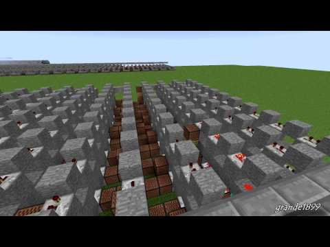Lady Gaga – Applause – Minecraft Note Block Remake