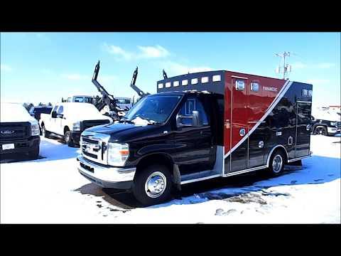 2014 Ford Ambulance Emergency Vehicle for Sale