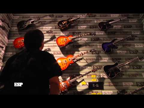 NAMM 2014: ESP Artists