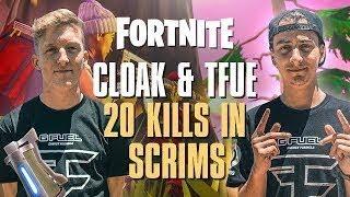 Faze Tfue and Cloak 20 Kill Vs Pros