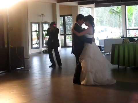 Primer baile después de casados