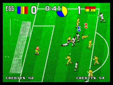 tecmo world soccer 96 neo geo