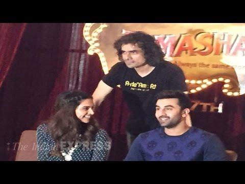 Deepika Padukone, Ranbir Kapoor At 'Tamasha' Trailer Launch