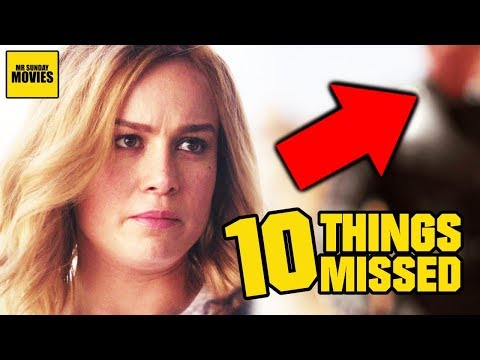 Captain Marvel Trailer Breakdown - Easter Eggs & Ten Things Missed