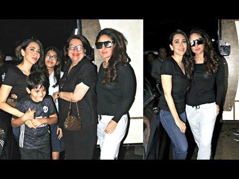 Video Kareena Kapoor Shoots With Sister Karishma, Mom Babita & Samaira-Kiaan download in MP3, 3GP, MP4, WEBM, AVI, FLV January 2017