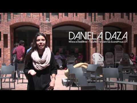 He conocido muchas personas, de muchos lugares y muchas costumbres - Daniela Daza.