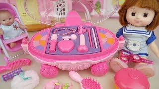 Video Baby doll Pink beauty hair car toys and baby Doli mart play MP3, 3GP, MP4, WEBM, AVI, FLV Desember 2017