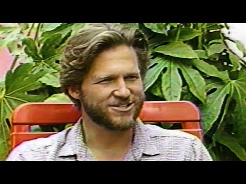 """Jeff Bridges on filming """"Against All Odds"""" with Rachel Ward 1984"""