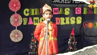 Glimpses of Fancy Dress Competition for Class-! held on 17th December 2016