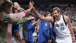 Dirk Nowitzki Moves Into 6th On The All-Time Scoring List | March 18, 2019