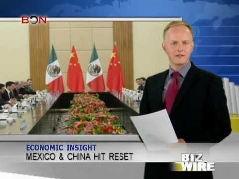 Mexico & China settle differences peacefully – Biz Wire – June 4,2013 – BONTV China
