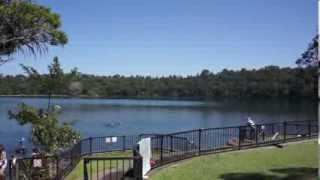 Atherton Tablelands Australia  city images : Lake Eacham the Atherton Tableland of Queensland, Australia