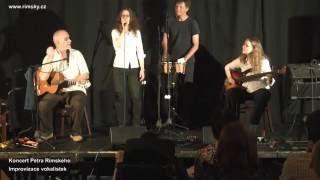 Video Petrovy vokalistky - improvizace