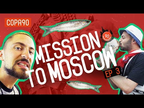 People Eat This Because They Like it?!  | Mission to Moscow with pumafootball (видео)