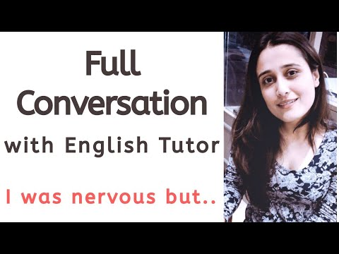 I was nervous but it came out easy | Full Conversation with an English Tutor on the App - Cambly