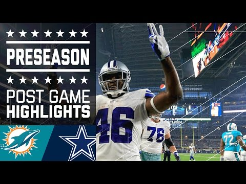 Dolphins vs. Cowboys | Game Highlights | NFL