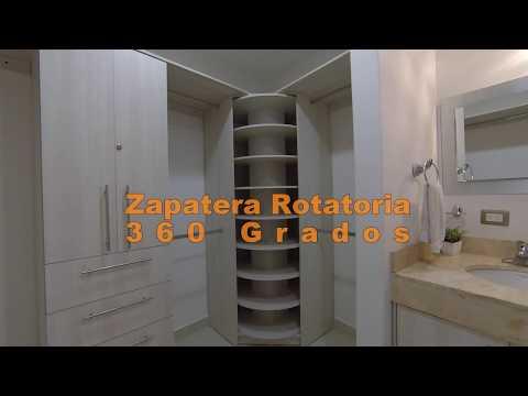Zimerman vestidor giratorio - Zapatera giratoria ...