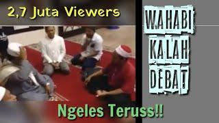 Video Ust. WAhabi debat dengan Imam Masjid Jebolan LIRBOYO, Lucu !! Banyak Ngeles nya. MP3, 3GP, MP4, WEBM, AVI, FLV Mei 2019