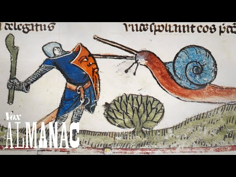 Why Knights Were Often Shown Fighting Snails in Medieval