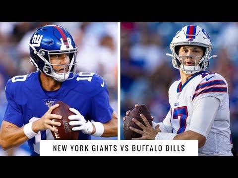 Live Reactions Of The New York Giants vs Buffalo Bills