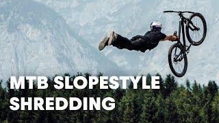 Video MTB Slopestyle shredding. | Crankworx FMBA Slopestyle Innsbruck 2018 MP3, 3GP, MP4, WEBM, AVI, FLV September 2018