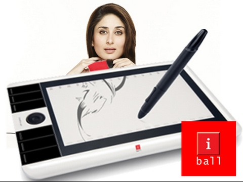 iball PF1064U pen tablet  unboxing and review in Hindi