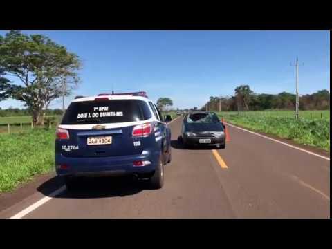 Acidente na rodovia de acesso a Dois Irmãos do Buriti mata duas mulheres