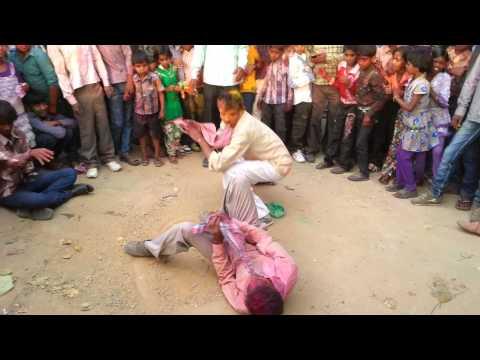 Nagin Dance - Nagin dance in holi at varanasi(Saidupur)