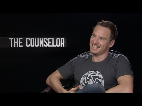 Michael Fassbender - Emmy winner Jake Hamilton travels to London to talk with the stars and director of THE COUNSELOR -- Michael Fassbender, Javier Bardem, Penelope Cruz and dire...