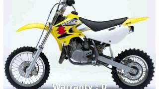 2. [motosheets] 2005 Suzuki RM 65 - Features