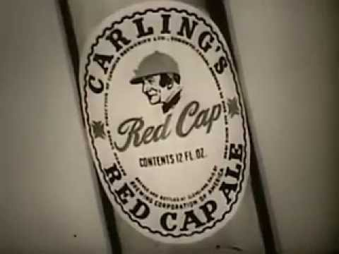 Vintage Old 1950′s Carling's Brewery Red Cap Ale Beer Commercial 2