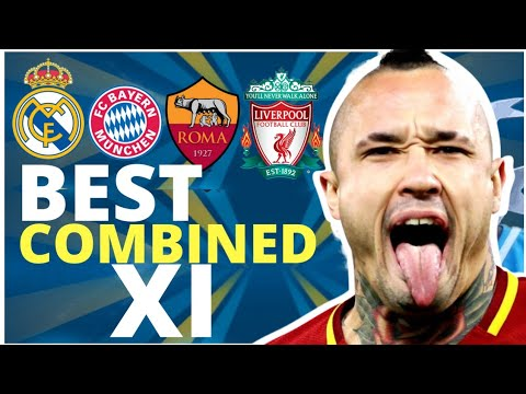 MY UEFA CHAMPIONS LEAGUE BEST SEMI FINALS COMBINED XI
