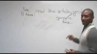 English Grammar - Past Simple&Present Perfect
