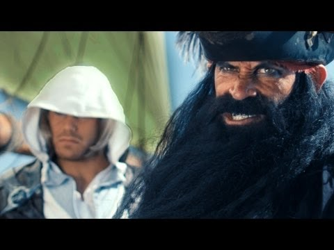 Black flags - The fearsome pirates Edward Kenway and Blackbeard pretty much own the seas. This is what happens when you mess with them! Musical Composition by Casey Edward...