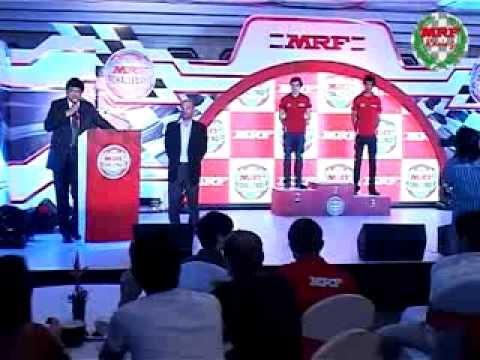 MRF Challenge Formula 2000 - Award Ceremony