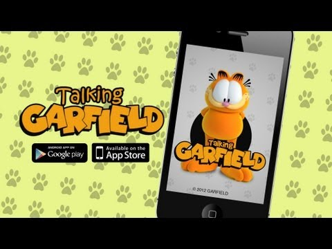 Video of Talking Garfield Free