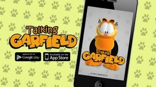 Talking Garfield Pro YouTube video
