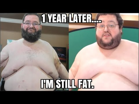 One Year Later... I'm still fat. Weight Loss Update.