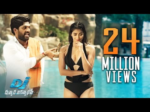 Video DJ Duvvada Jagannadham Scenes - Pooja Hegde Swimming Pool Scene - Allu Arjun download in MP3, 3GP, MP4, WEBM, AVI, FLV January 2017