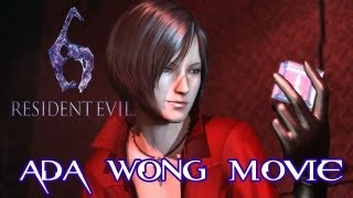 Resident Evil 6 Ada Wong All Cutscenes Movie TRUEHD QUALITY