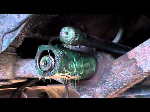 how to repair a axel on a peugeot 206 part 3