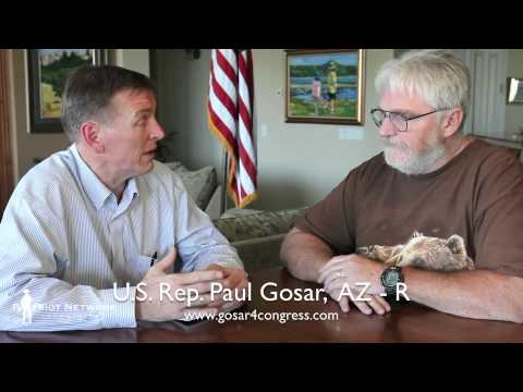 Paul Gosar - Congressman Paul Gosar stands with the U.S. Constitution 100%.