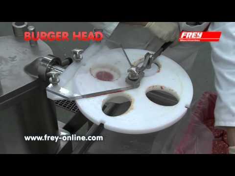 Tête de formage  de steaks hachés FREY type BURGER HEAD BH4